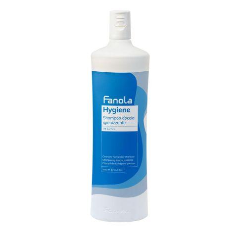 Fanola Hygiene Szampon Do Włosów i Ciała 1000ml
