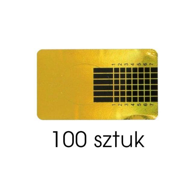 Formy do akrylu WĄSKIE 100szt.