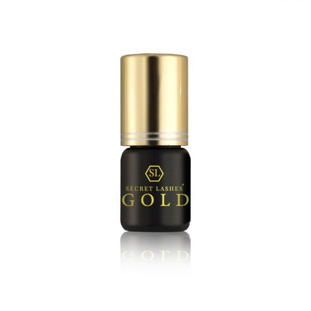 SECRET LASHES Klej Gold 3g