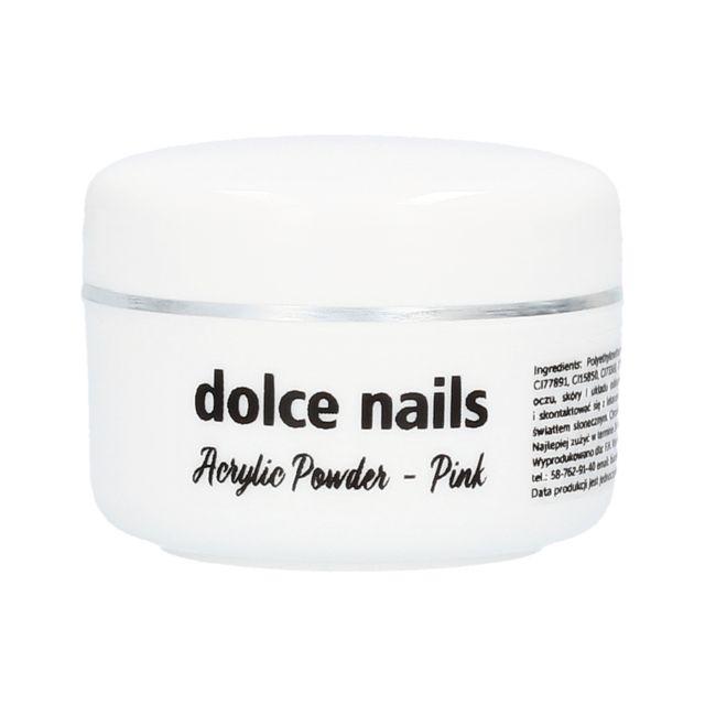 DOLCE NAILS Acrylic Powder Pink akryl różowy 15g