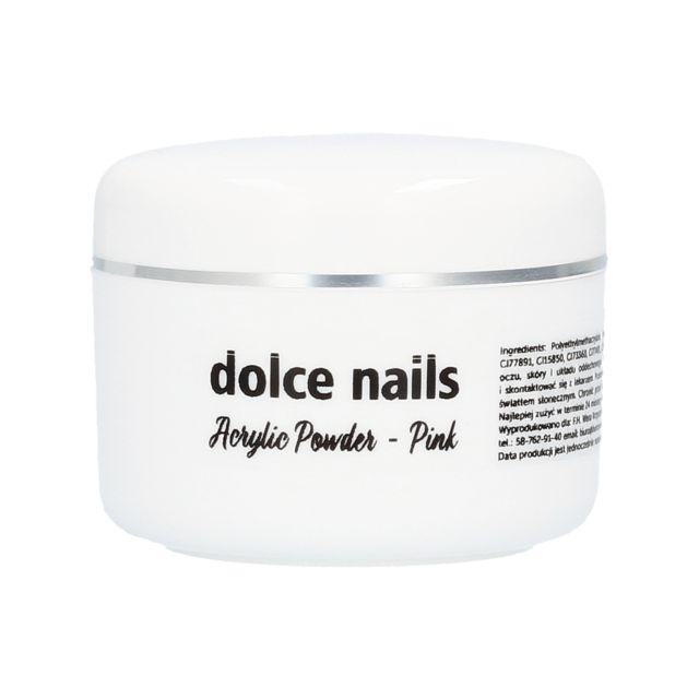 DOLCE NAILS Acrylic Powder Pink akryl różowy 30g