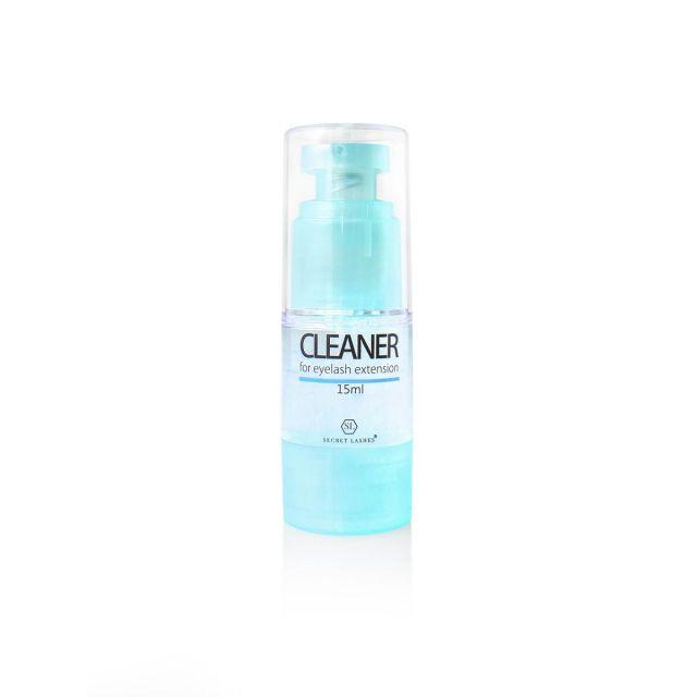SECRET LASHES Cleaner 15ml - butelka z dozownikiem
