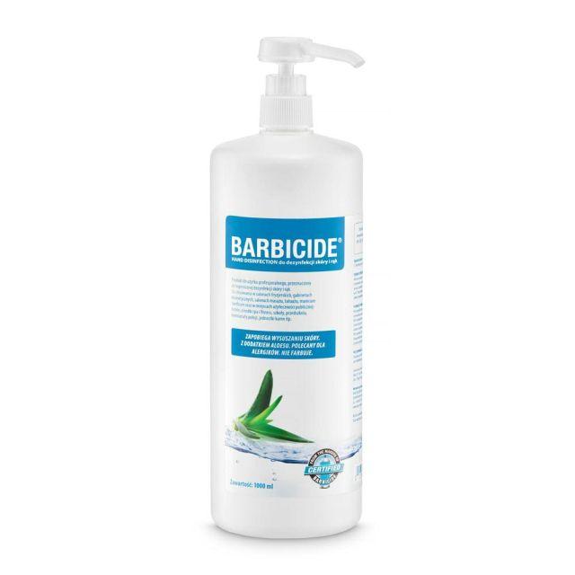BARBICIDE Hand Disinfection płyn do dezynfekcji skóry i rąk 1000ml