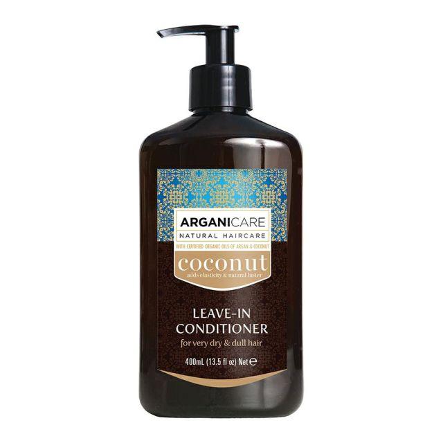 ARGANICARE Coconut odżywka bez spłukiwania do włosów suchych 400ml