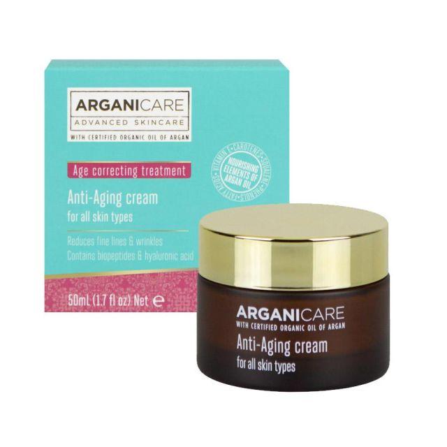 ARGANICARE Anti Aging krem przeciwzmarszczokowy 50ml
