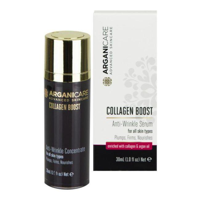 ARGANICARE Collagen Boost serum przeciwzmarszczkowe 30ml