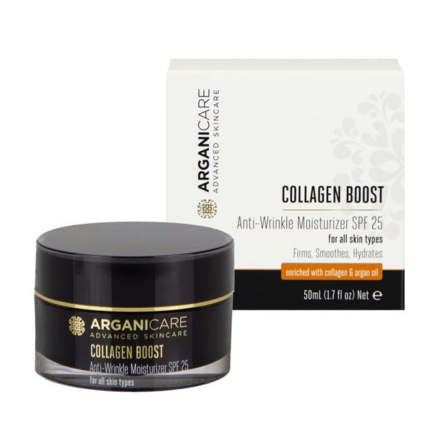 ARGANICARE Collagen Boost krem przeciwzmarszczkowy SPF25 50ml