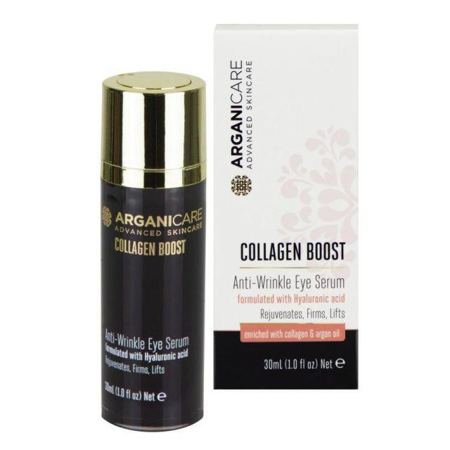 ARGANICARE Collagen Boost Anti Wrinkle Eye serum pod oczy 30ml