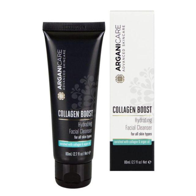 ARGANICARE Collagen Boost płyn do mycia twarzy 80ml