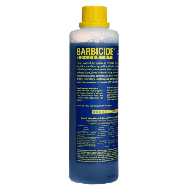 BARBICIDE Koncentrat 2020 do profesjonalnej dezynfekcji 500ml