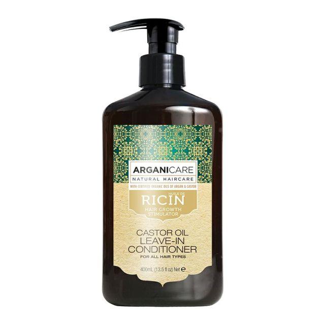 ARGANICARE Castor Oil odżywka bez spłukiwania stymulująca porost włosów 400ml