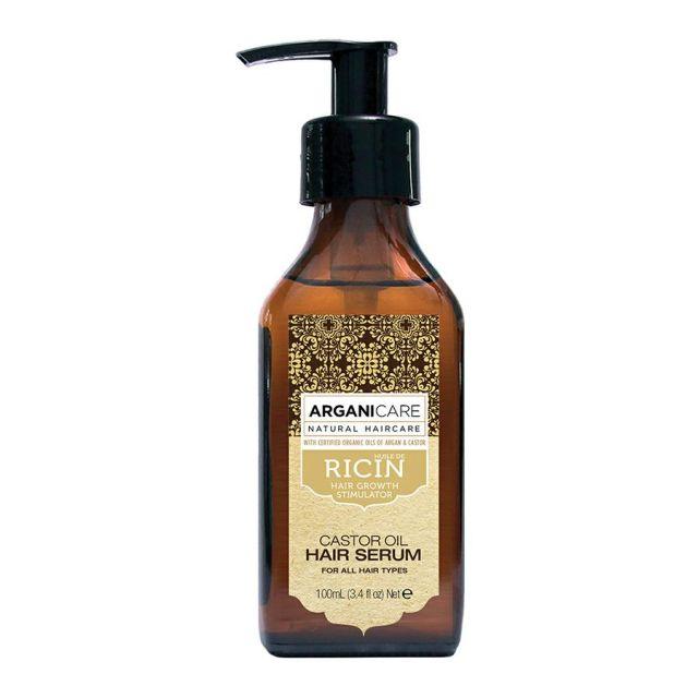 ARGANICARE Castor Oil serum stymulujące porost włosów 100ml