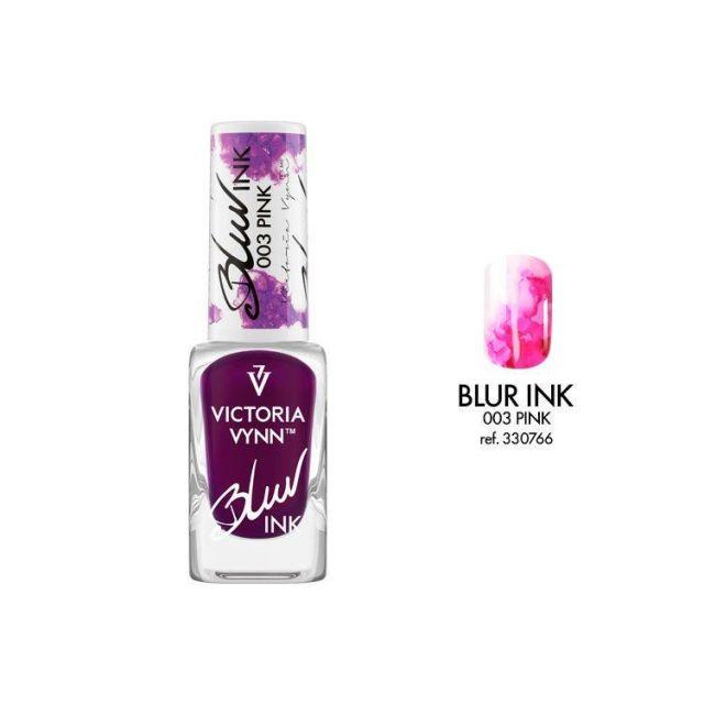 VICTORIA VYNN 003 Blur Ink Pink Atrament do zdobień 10ml