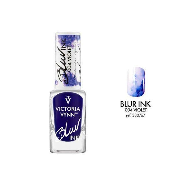VICTORIA VYNN 004 Blur Ink Violet Atrament do zdobień 10ml