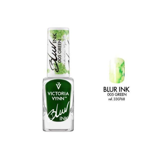VICTORIA VYNN 005 Blur Ink Green Atrament do zdobień 10ml