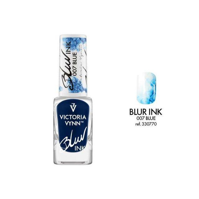 VICTORIA VYNN 007 Blur Ink Blue Atrament do zdobień 10ml