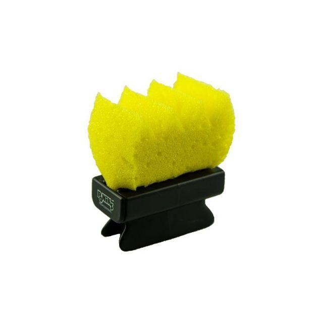 PONIKS Gąbka fryzjerska z uchwytem do utrwalacza + 2szt. zapasowe