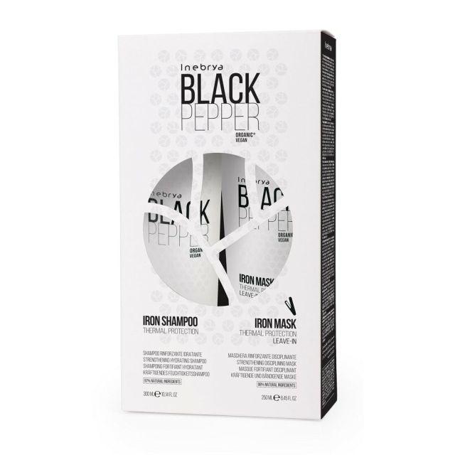 INEBRYA BLACK PEPPER IRON KIT zestaw