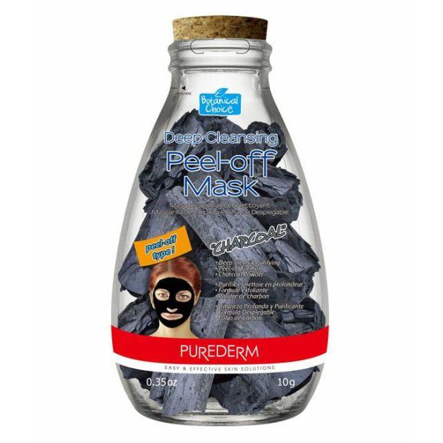 PUREDERM PEEL-OFF koreańska czarna maska black mask 1szt.